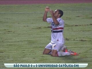 São Paulo empata com a Católica e vai à final da Copa Sul-Americana