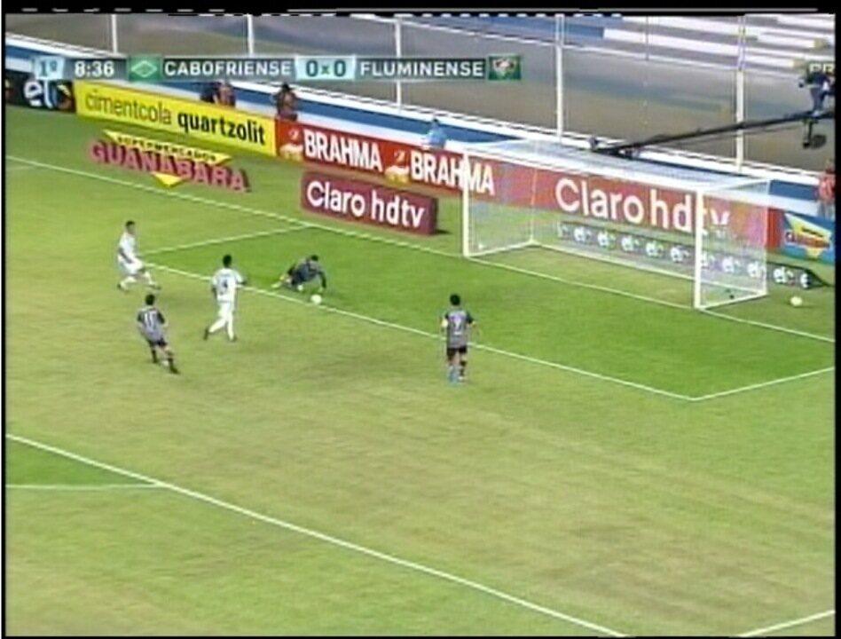 bb80daf3b9 Cabofriense empata com Fluminense no Moacyrzão em Macaé