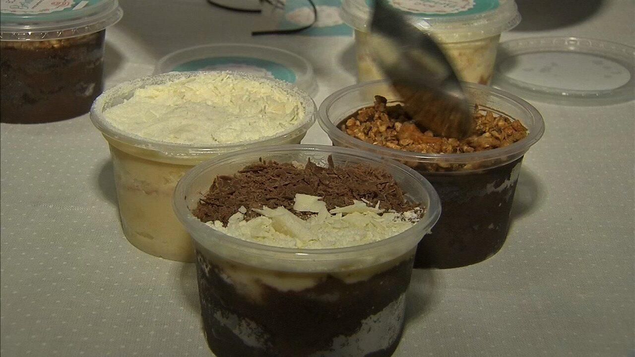 Conhecido Aprenda a fazer o bolo de pote em dois sabores - G1 Ceará - NE  UF84