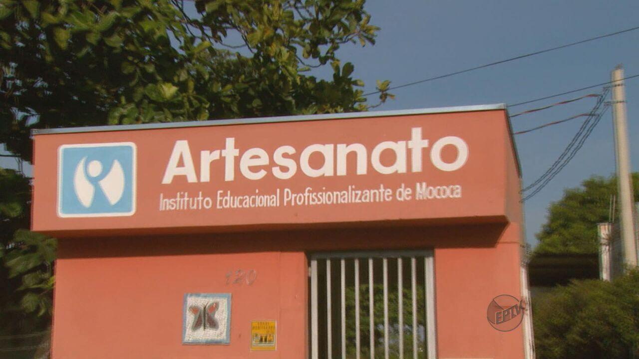 Armario Sala De Tv ~ Instituto Artesanato sofre com falta de dinheiro em Mococa G1 S u00e3o Carlos e Araraquara Jornal