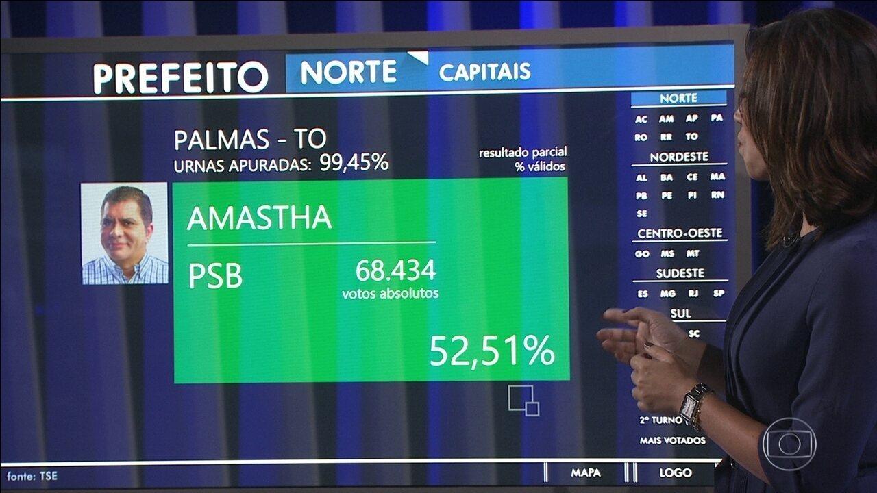 Carlos Amastha é reeleito prefeito de Palmas (TO) - Eleições 2014 no G1 –  Vídeos 02151174bda20
