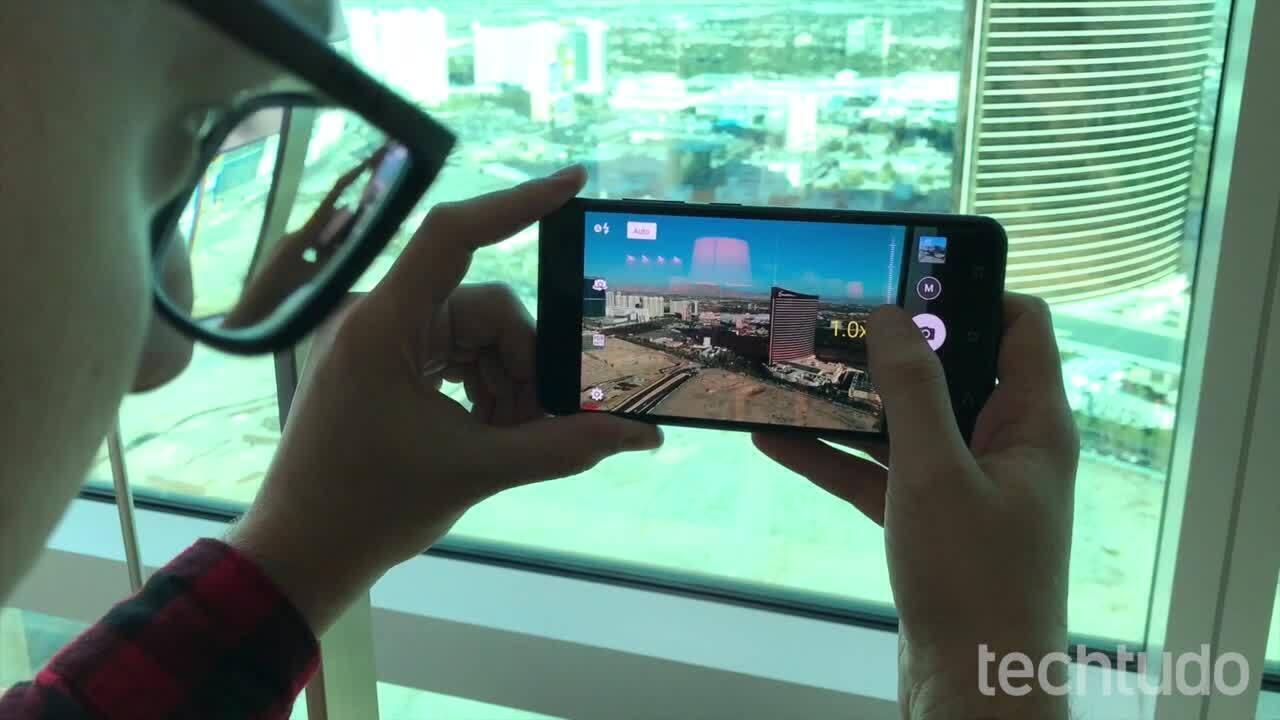 Testamos o Zenfone 3 Zoom na CES 2017