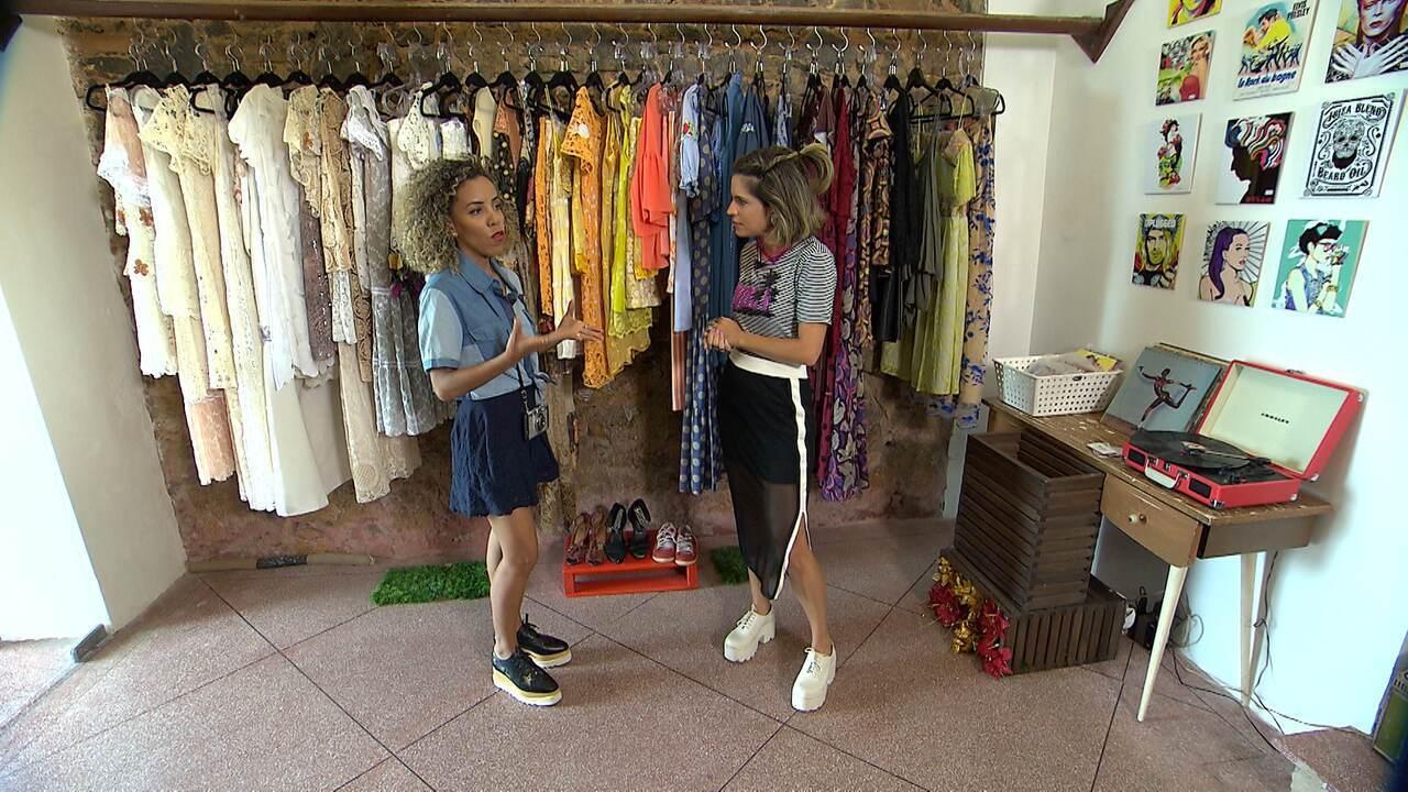 Adesivo Estrela Kalunga ~ Paulinha faz garimpo em brechó e estilista mostra como customizar roupas Rede Bahia Mosaico