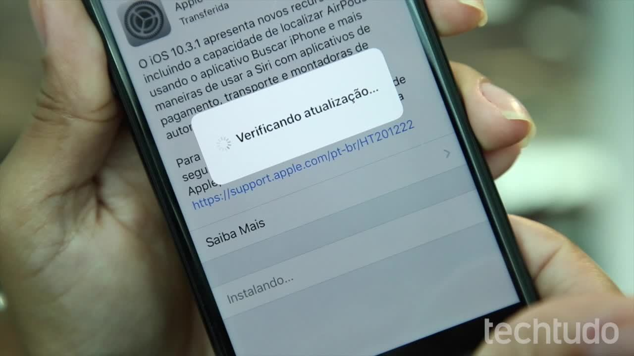 Como atualizar o iOS no iPhone e iPad
