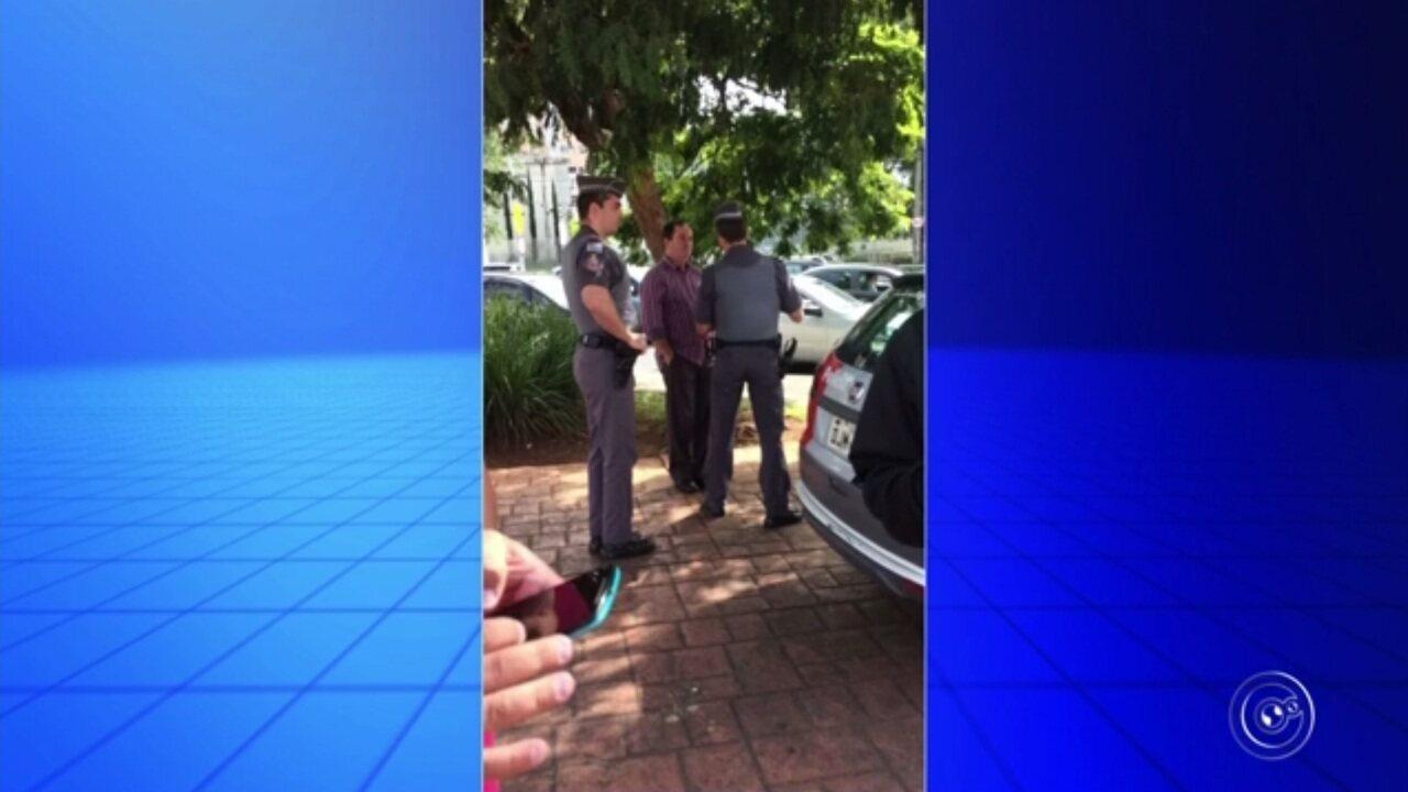 Polícia é chamada para conter confusão entre motorista da Uber e taxista em Sorocaba