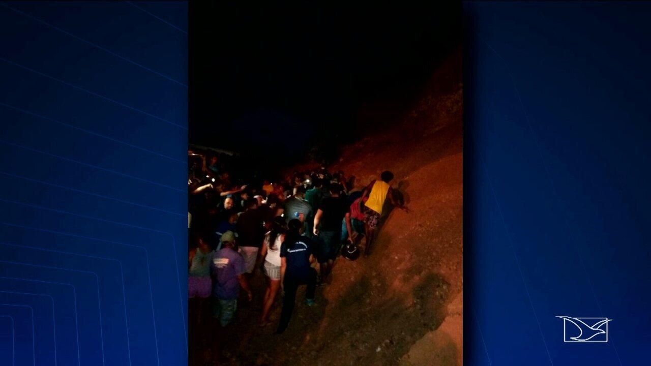Crianças morrem soterradas no Maranhão