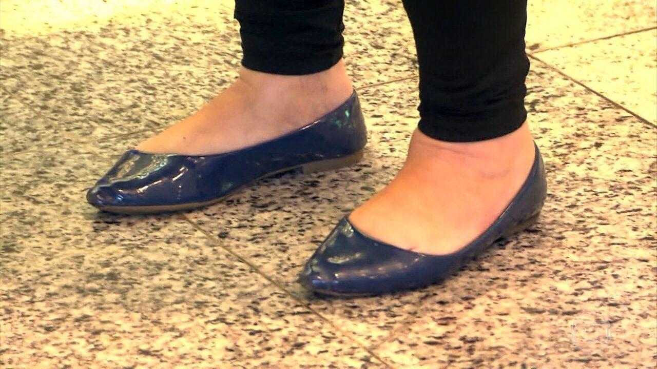 Especialista indica modelos de sapatilhas que não são prejudiciais aos pés