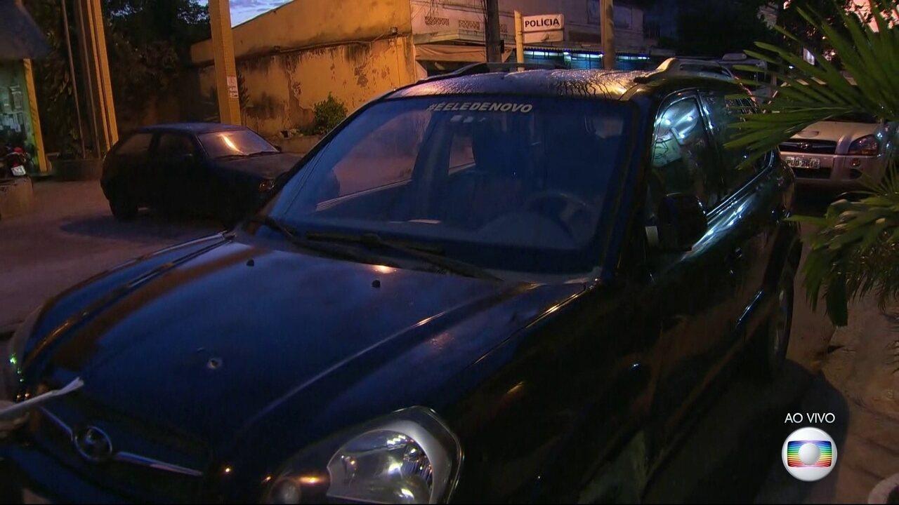 'Imaginei que iam jogar meu filho', diz mãe que teve carro roubado