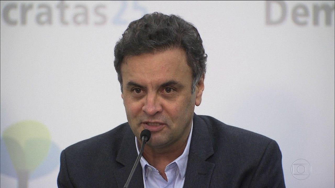 Supremo afasta de suas funções o senador tucano Aécio Neves