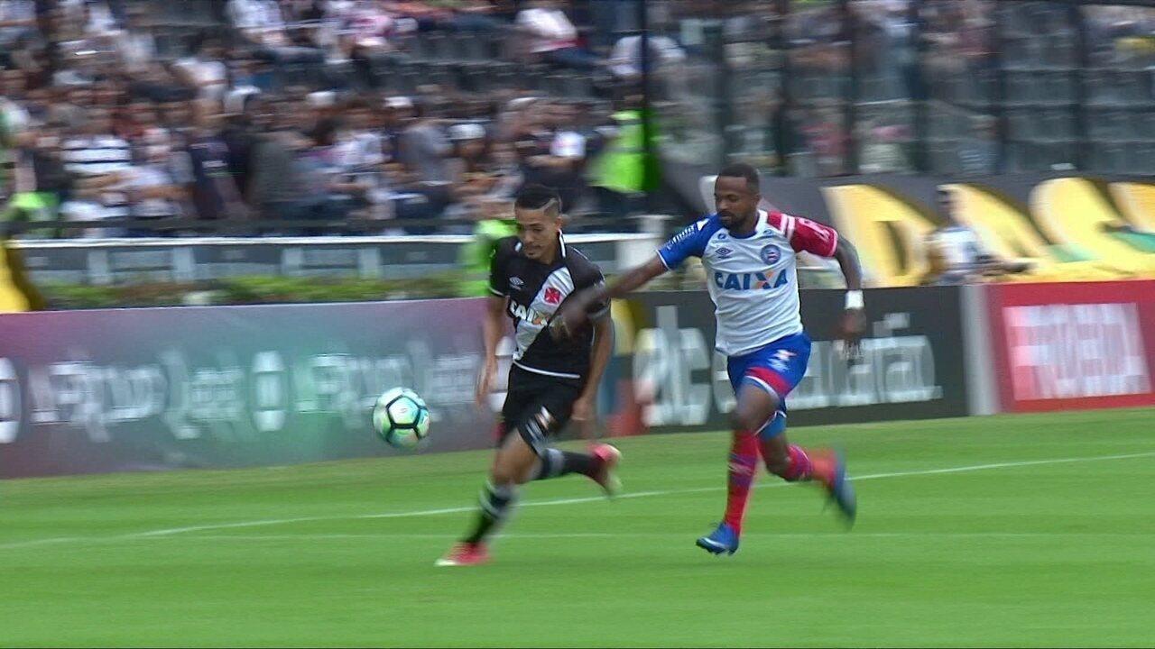 Melhores momentos de Vasco 2 x 1 Bahia pela 2ª rodada do Campeonato Brasileiro