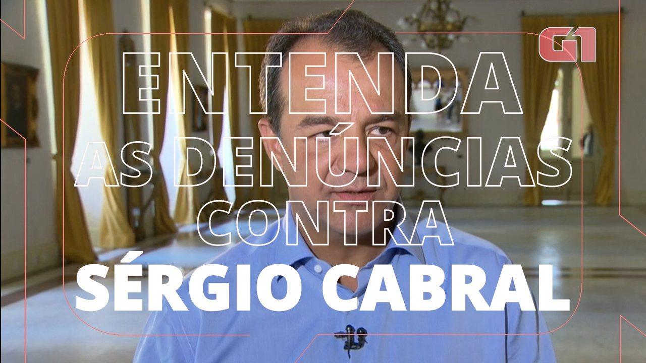 Justiça aceita denúncia, e Cabral vira réu pela décima vez