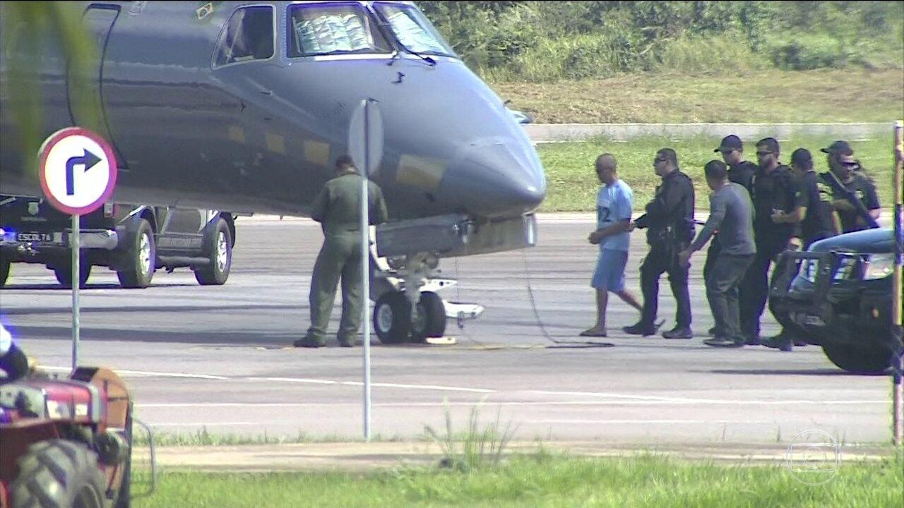 Traficante Fernandinho Beira-Mar é transferido da Penitenciária Federal em Porto Velho