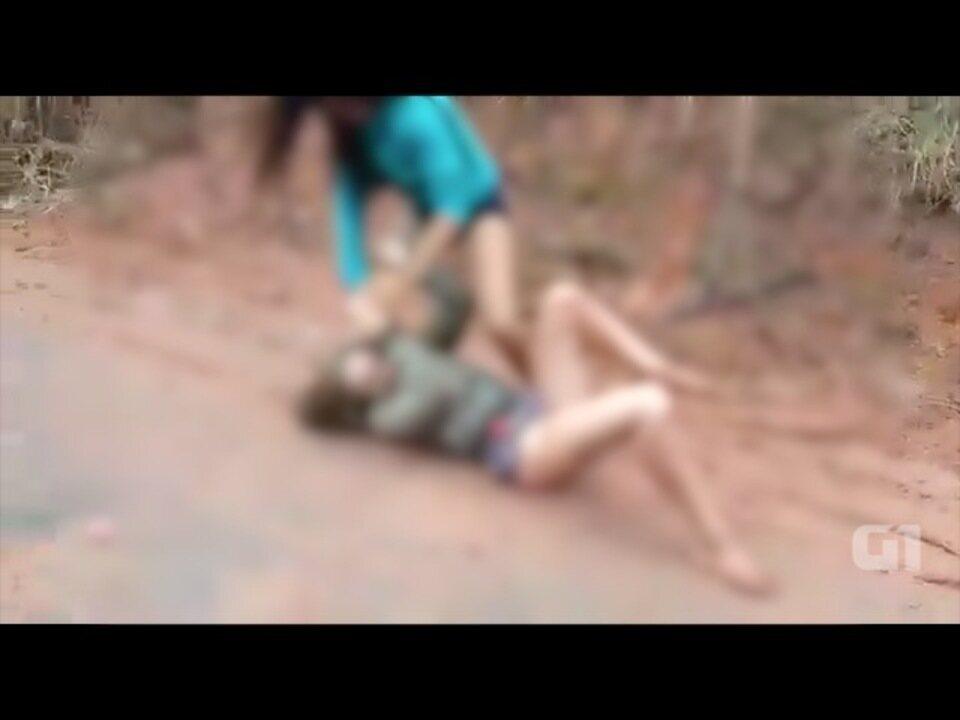 Polícia investiga agressão registrada em vídeo em Cunha