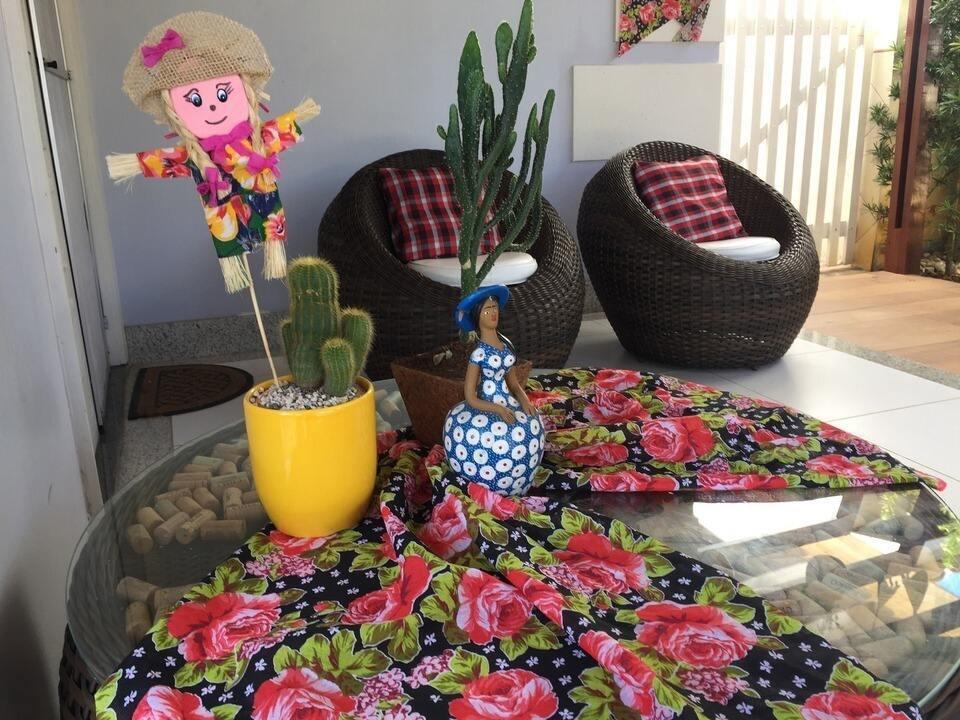 Decoraç u00e3o para festa junina ideias simples e charmosas Combinado Gshow -> Ideias Para Decoração De Festa Junina Simples