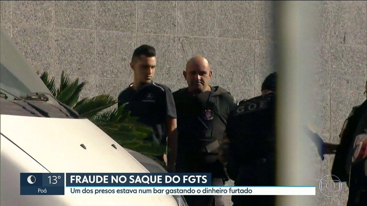 PF prende suspeitos de fraudar saque das contas inativas do FGTS