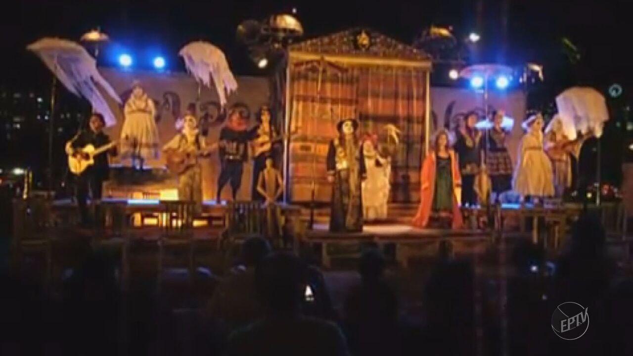 Festival Nacional de Teatro tem apresentações de 22 grupos até domingo (18) em Passos