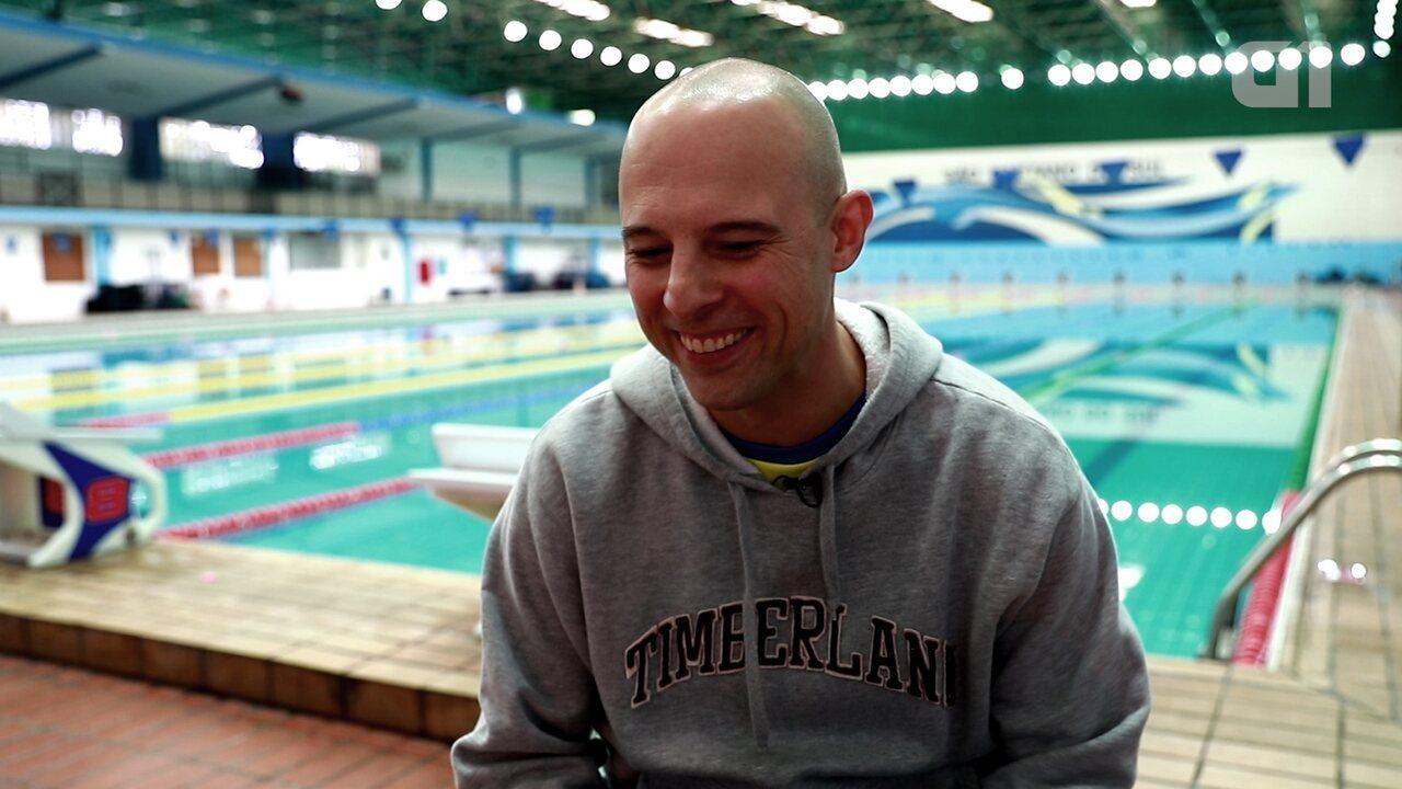 Resultado de imagem para Bancário vence leucemia e vai defender o Brasil em olimpíada para transplantados
