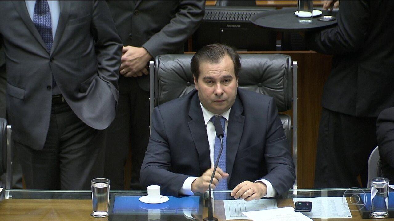 Câmara dos Deputados notifica presidente Temer sobre denúncia