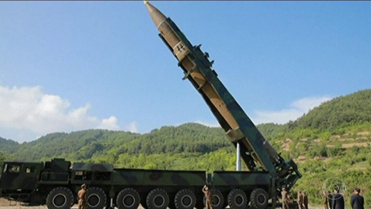 Coreia do Norte diz ter testado míssil que alcançaria Alasca, nos EUA