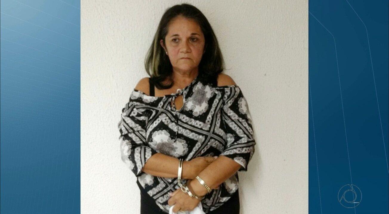 Mulher é presa após 15 anos de ter mandado matar o marido