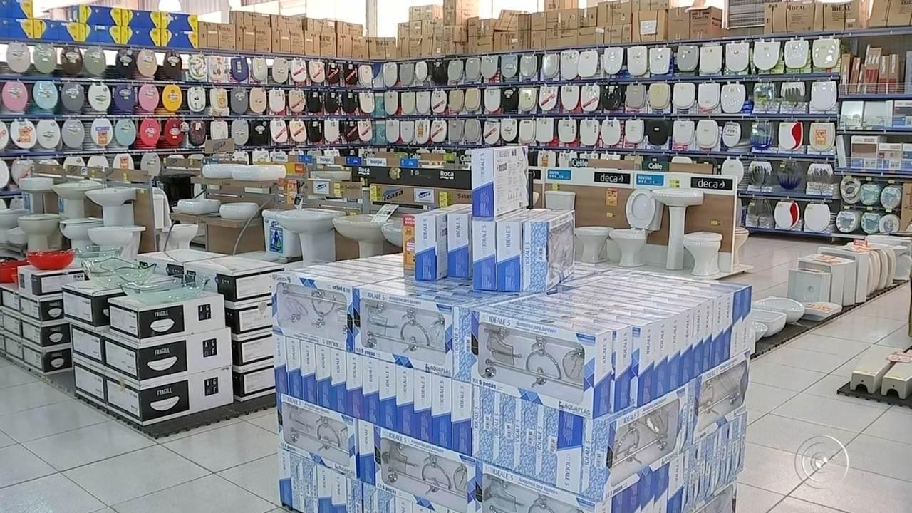 Sonha Artesanato Sorocaba ~ Vendas em lojas de materiais de construç u00e3o aumentam na