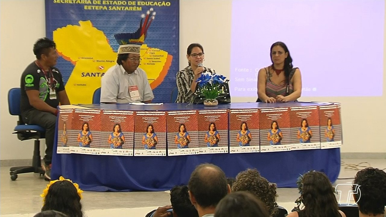 Artesanato Indigena Da Região Norte ~ Seminário para o fortalecimento do artesanato indígena da Calha Norte acontece em Santarém G1