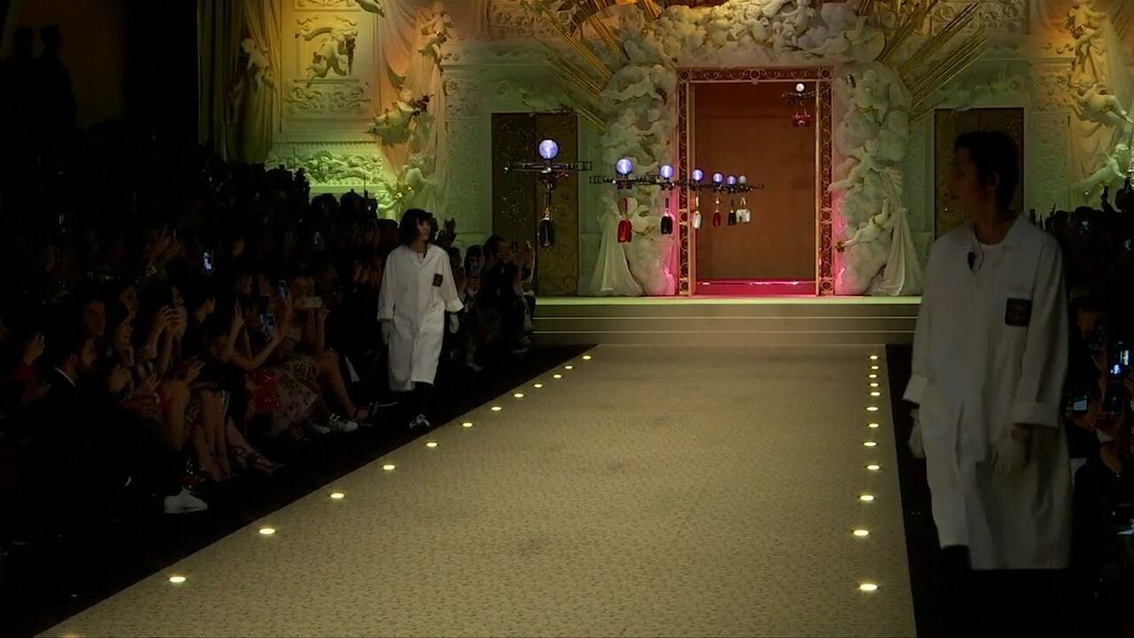 d12c3957181d0 Drones apresentam coleção de bolsas Dolce   Gabbana - GloboNews - Estúdio i  - Catálogo de Vídeos