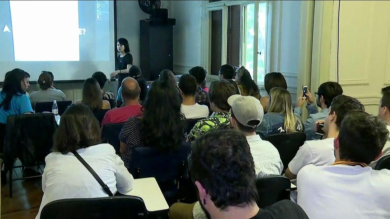 Evento celebra Dia Mundial da Criatividade em São Paulo - GloboNews – Jornal GloboNews - Catálogo de Vídeos
