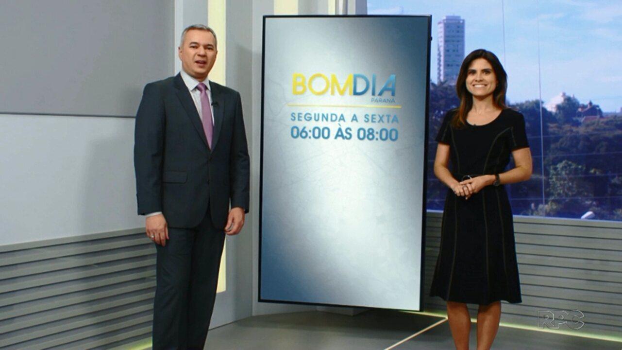 Novidade Na Programação Da Rpc Bom Dia Paraná Ganha Mais Meia Hora De Informação