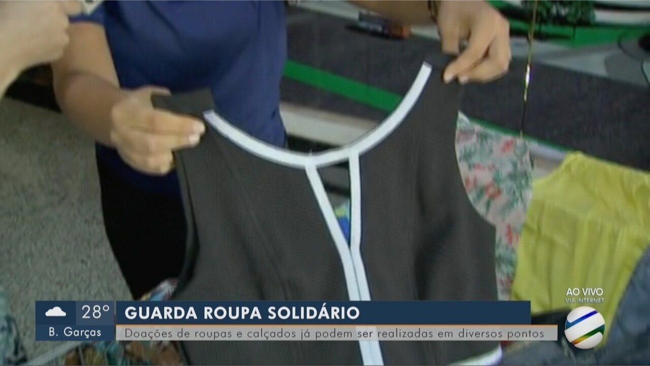 Doações de roupas e calçados para o Multiação já podem ser feitas - G1 Mato  Grosso - MT TV 1ª Edição - Catálogo de Vídeos 238bb395973