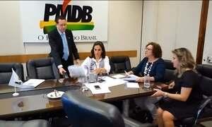 Dirigentes do PMDB decidem se o partido rompe ou não com o governo
