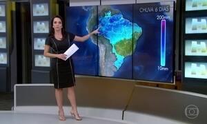 Previsão é de temporais no Sul do Brasil nos próximos dias