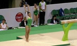 Seleção brasileira de ginástica artística garante vaga nas Olimpíadas do Rio