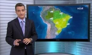 Previsão de tempo bom para parte do Brasil nesta terça-feira (19)
