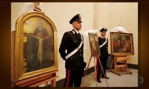 Recuperados na Itália quadros do século XV roubados por nazistas há 70 anos