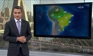 Veja a previsão do tempo para todo o Brasil nesta quarta-feira (20)