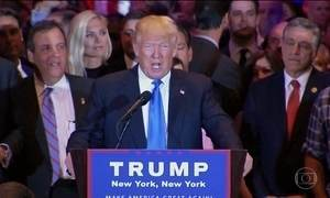Hillary e Trump conseguem vitória expressiva nas prévias de terça (26)