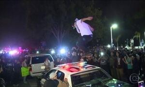 Comício de Trump na Califórnia termina com vários detidos após confronto