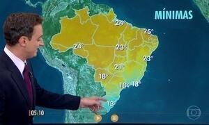 Confira como fica o tempo nesta segunda-feira (16)