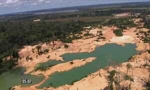 Operação fecha garimpo ilegal em Rondônia