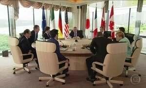 Reunião do G-7 junta líderes dos países mais industrializados do mundo no Japão