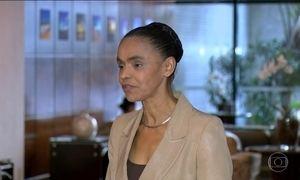 Marina Silva nega ter recebido contribuição não declarada da OAS em 2010
