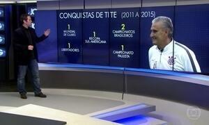 Caio Ribeiro comenta as mudanças no comando da Seleção Brasileira