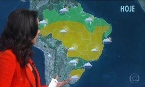 Último dia de outono será de bastante instabilidade entre o Sul e o Sudeste