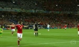 País de Gales e Inglaterra garantem vaga na próxima fase da Eurocopa