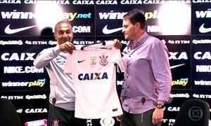 Cristóvão Borges entra no lugar de Tite como o novo treinador do Corinthians