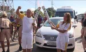 Após passar pelo Acre, tocha olímpica percorre Rondônia
