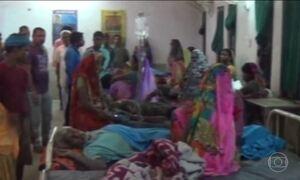Raios matam mais de 90 pessoas na Índia