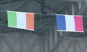 França e Irlanda disputam vaga nas quartas de final da Eurocopa neste domingo