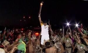 Tocha Olímpica chega a Mato Grosso do Sul